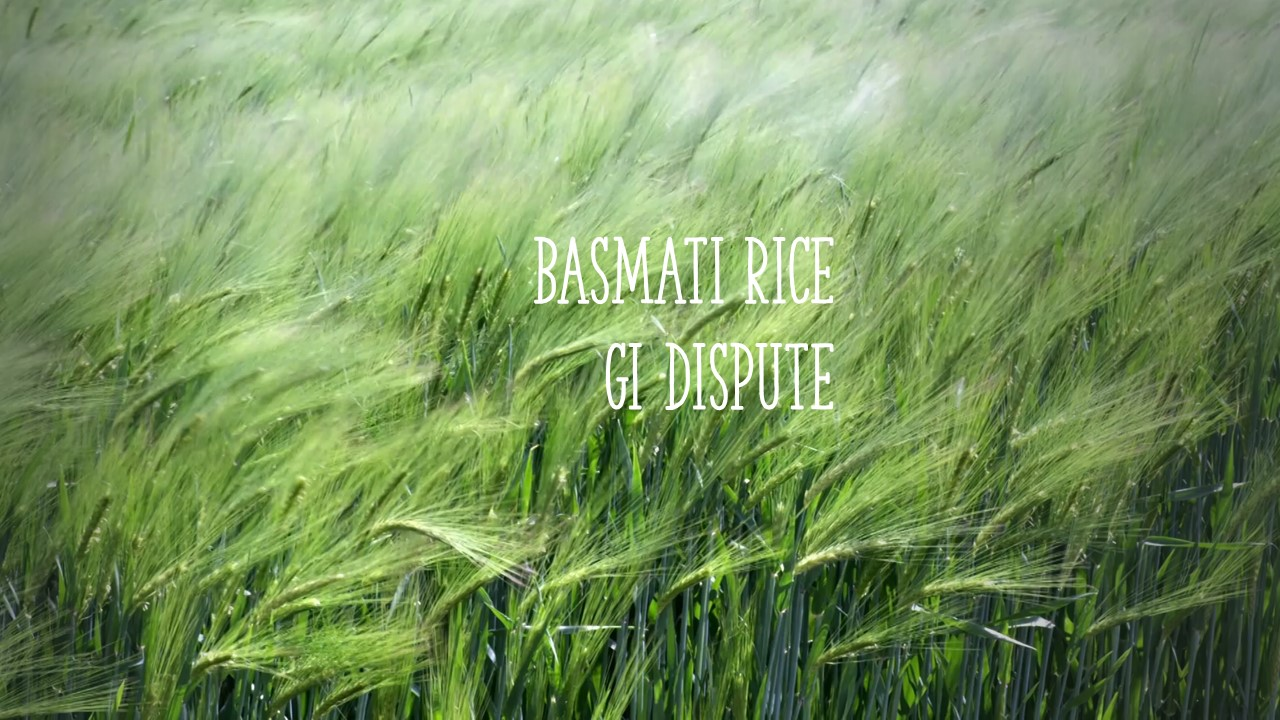 GIs & Basmati Rice: Relevance to Canadian Food Producers